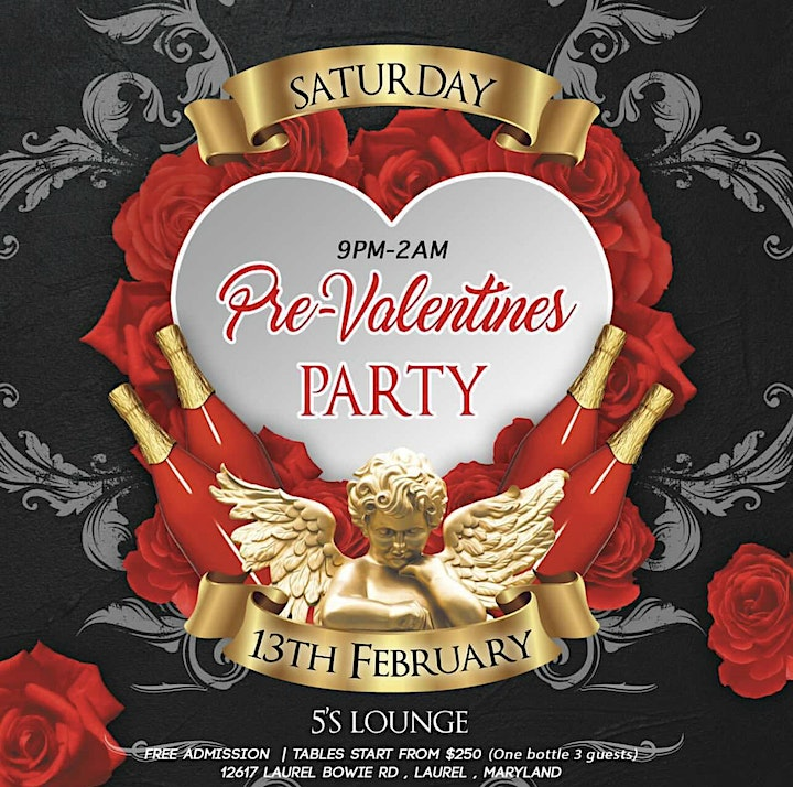 Free AfroVibes Pre-Valentines Party! image