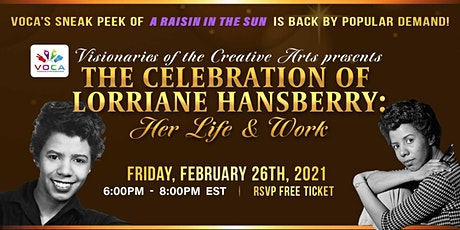 The Celebration of Lorraine Hansberry: Her Life and Work tickets