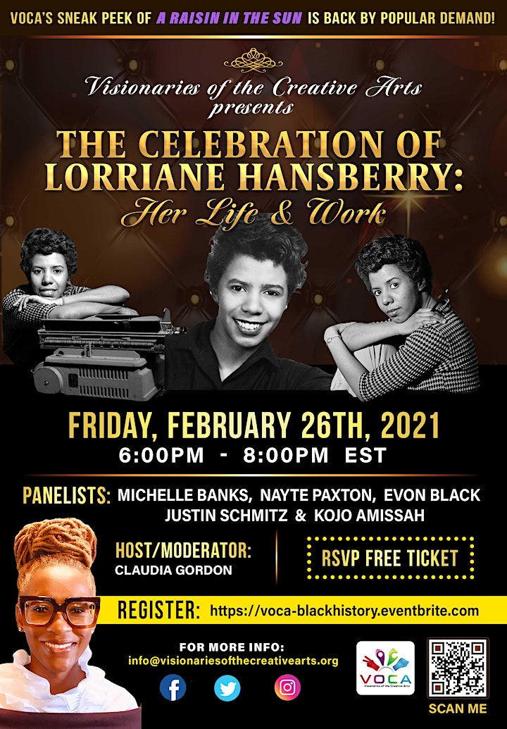 The Celebration of Lorraine Hansberry: Her Life and Work image