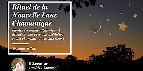 Rituel de la Nouvelle Lune Chamanique billets