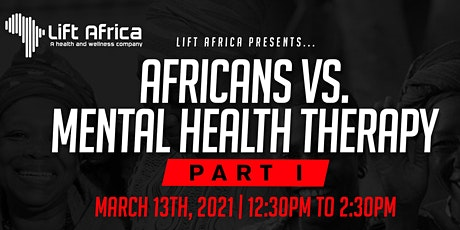 Africans vs. Mental Health Therapy tickets