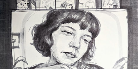 Portrait Drawing Evening - Drink and Draw tickets