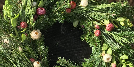 Forever Bloom Farm  - Holiday Wreath Workshop – Pescadero, CA – 12/04/21 tickets