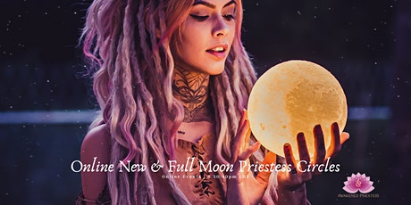 Full Moon Online Priestess Circle tickets