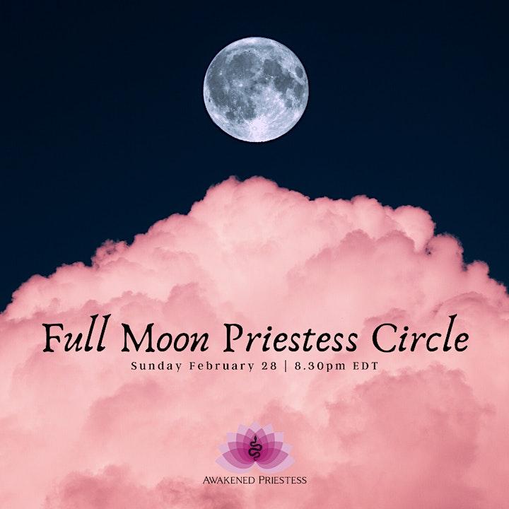 Full Moon Online Priestess Circle image