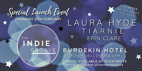 The Indie Groove Presents - Groove Nights - Launch Edition! tickets