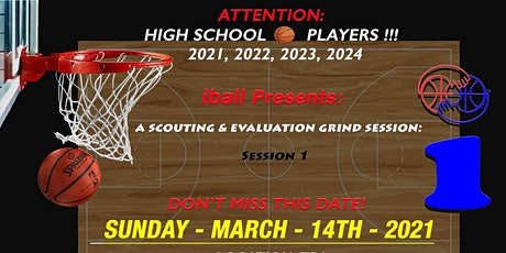 iball Scouting and Evaluation Grind Session tickets