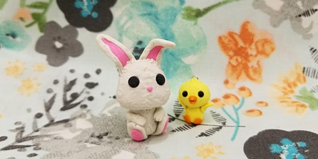 Polymer Clay Art - Bunny and Chicks -ONLINE tickets