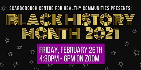 Black History Month Event 2021 tickets