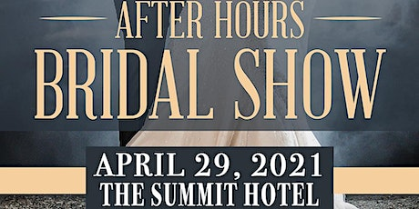 AFTERHOURS SPRING WEDDING SHOW tickets
