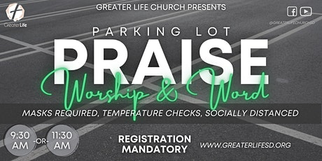 GLC Parking Lot Praise, Worship & Word boletos