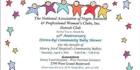 30th Anniversary Community Baby Shower  (Drive-by Event) tickets