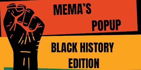 Mema's Popup Black History Edition tickets