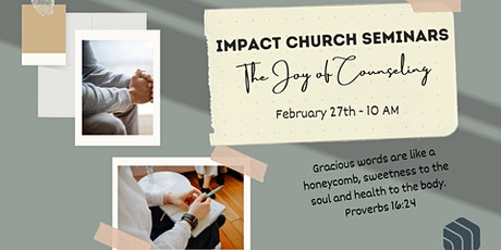 Impact Church Joys of Counseling tickets