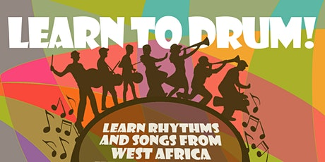 Learn to Drum (postponed to May 22) tickets