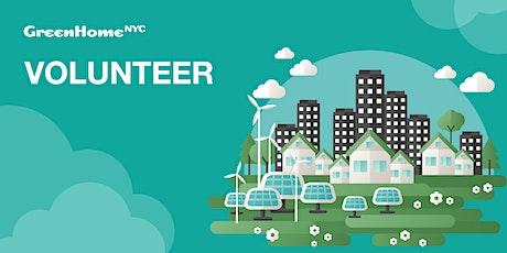 Volunteer with GreenHomeNYC tickets