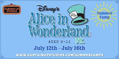 Alice In Wonderland JR - Summer Camp 2021 tickets