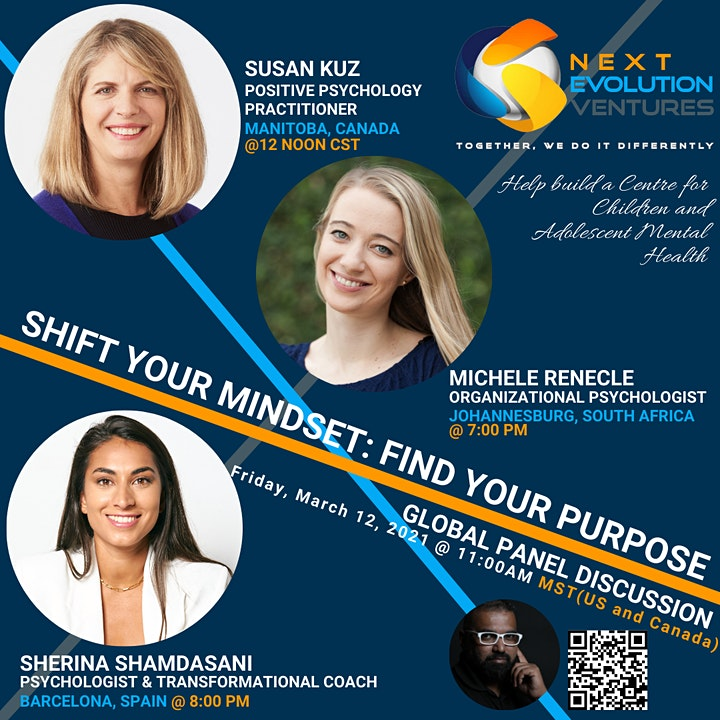 SHIFT YOUR MINDSET: FIND YOUR PURPOSE image
