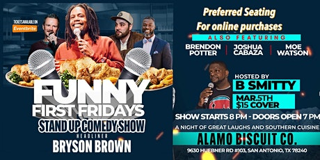 Funny First Fridays tickets