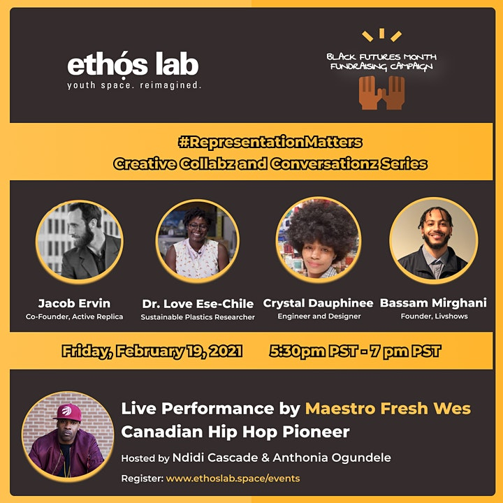 Ethos Lab Presents:  #RepresentationMatters image