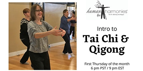 Intro to Tai Chi and Qigong - Online Class! Tickets