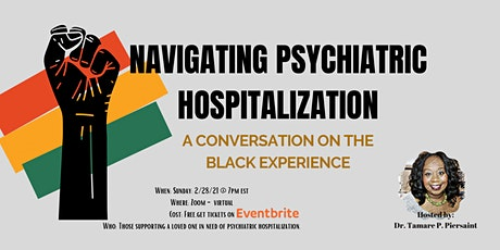 Navigating Psychiatric Hospitalization tickets