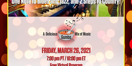 One Step to Blues and Jazz and 2 Steps to Country tickets