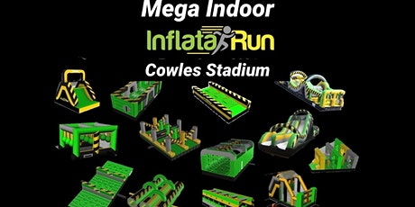 Mega Indoor InflataRun - As seen on TVNZ What Now tickets