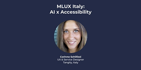 [VIRTUAL] MLUX Italy: AI  x Accessibility tickets