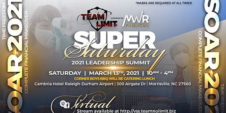 SUPER SATURDAY 2021 LEADERSHIP SUMMIT tickets