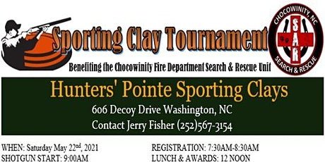 Chocowinity Search & Rescue Sporting Clay Tournament tickets