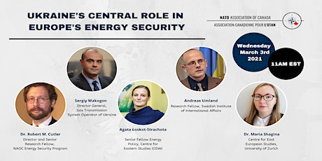 Ukraine's Central Role in Europe's Energy Security tickets