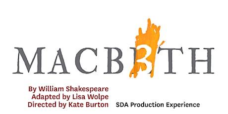 USC School of Dramatic Arts: Macbeth 3 tickets