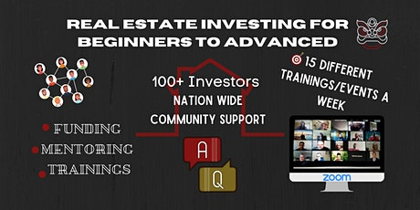 INTRO to real estate investing from newbies to advanced. tickets