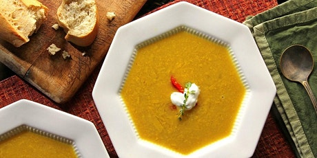 Virtual Workshop:  Soup Making with Ashley tickets