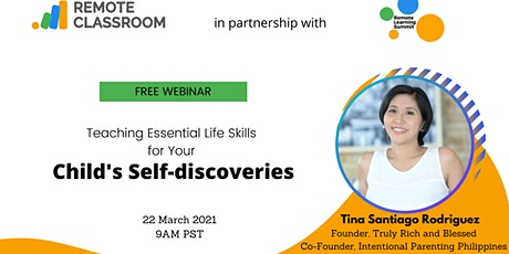 Teaching Essential Life  Skills for Your Child's Self-discoveries tickets