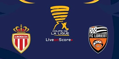 Ligue-1@!! Monaco - Lorient E.n direct Live 2021 billets