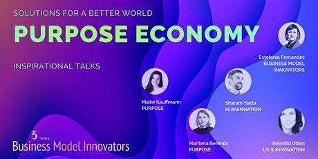 Solutions for a better world: Purpose economy tickets