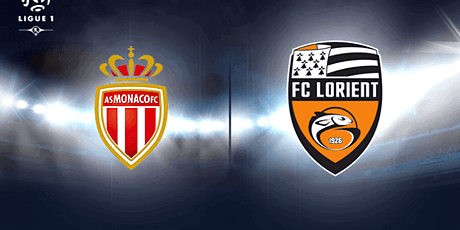 LivE ~@@~!~##[DiReCt]...Monaco - Lorient E.n Direct Live 2021 billets
