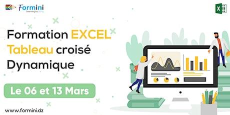 Formation EXCEL: Tableau Croisé Dynamique - mars 21 billets