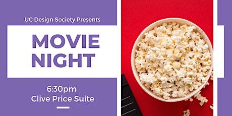 UC Design Society Movie Night tickets