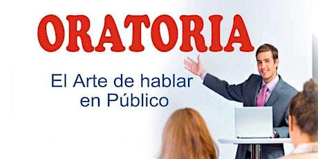 TALLER DE ORATORIA (Presentación gratuita) entradas