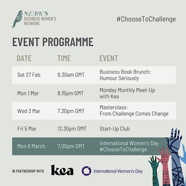 Masterclass for International Women's Day: From Challenge Comes Change image