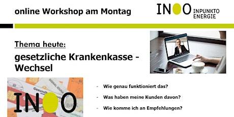 live Sonder-Webinar GKV-Wechsel  (Für Partner kostenfrei) Tickets