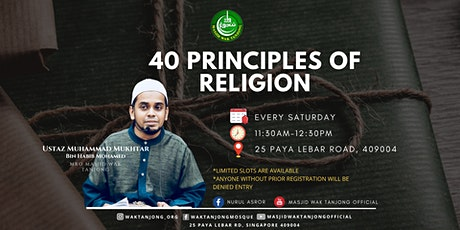 40 Principles of Religion tickets