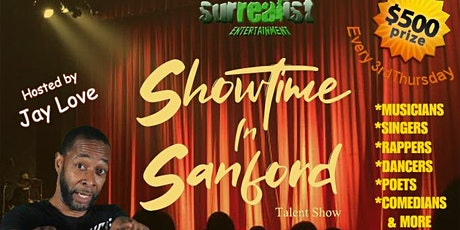 Showtime In Sanford tickets