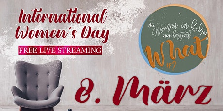 "Live Streaming: ""What If?"" filmmakers showcase on International Women´s Day biglietti"
