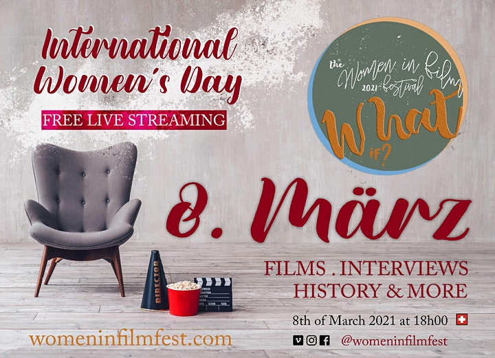 """Live Streaming: """"What If?"""" filmmakers showcase on International Women´s Day image"""