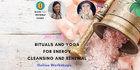 Rituals and Yoga for energy cleansing and renewal tickets