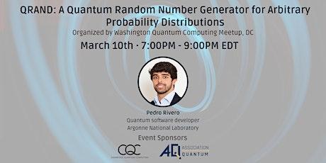 QRAND: A Quantum Random Number Generator tickets
